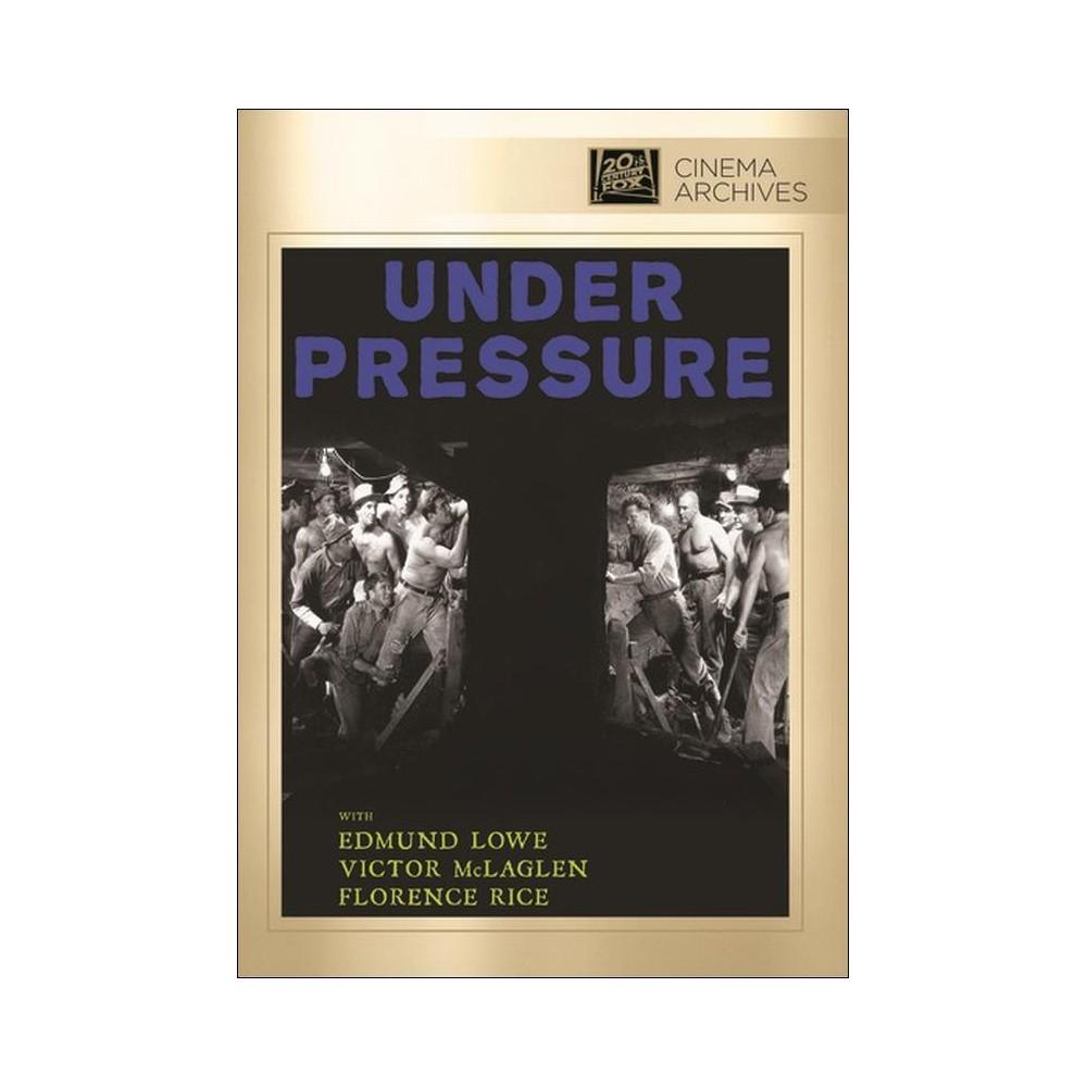 Under Pressure (Dvd), Movies