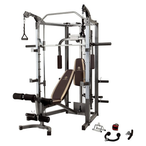 Marcy Combo Smith Machine with Bench (SM-4008) - image 1 of 16