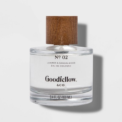 No. 2 Juniper & Sandalwood Men's Cologne - 3.4 fl oz - Goodfellow & Co™