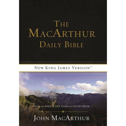 MacArthur Daily Bible-NKJV - by  Thomas Nelson (Paperback) - image 1 of 1