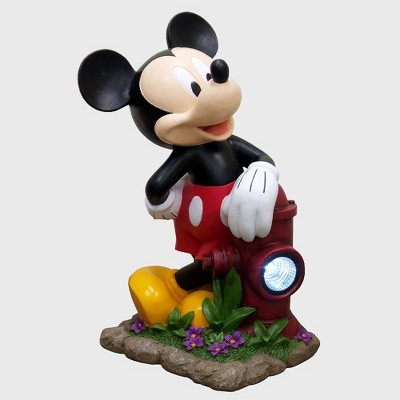 "Disney Mickey Mouse 22"" Solar Resin Statue"