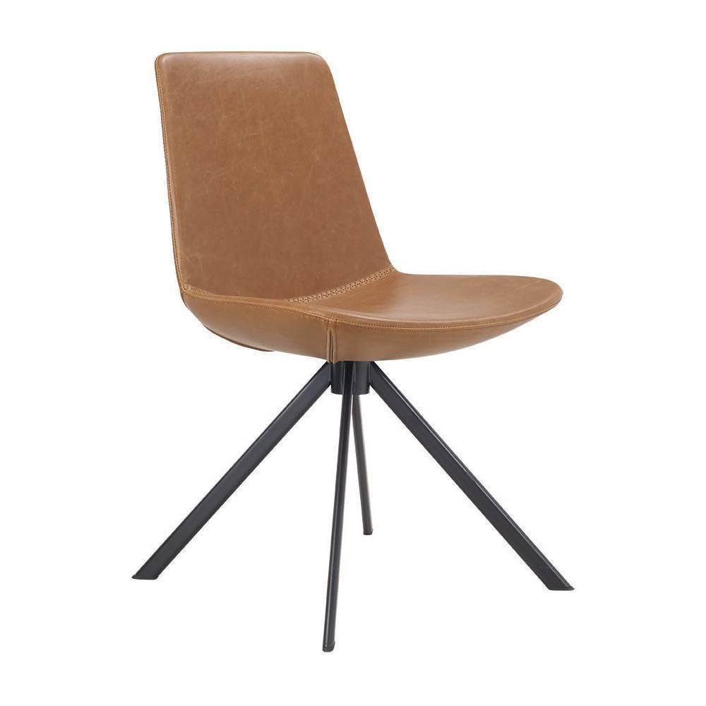 Set of 2 Bungee Break Room Chair Brown - Olio Designs