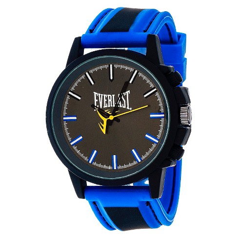 Men's Everlast™ Analog Watch - Blue - image 1 of 1