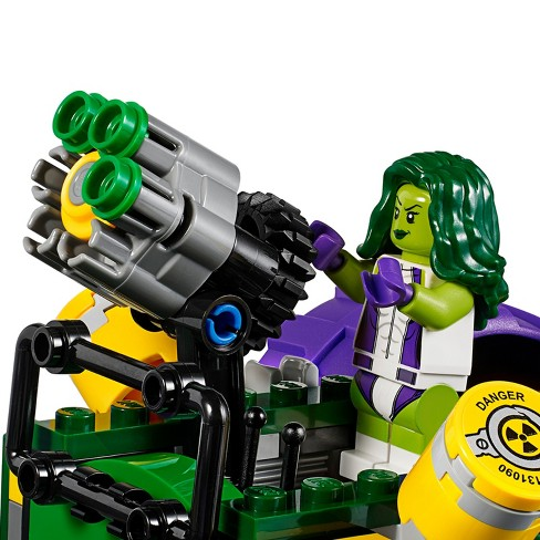 lego super heroes hulk vs red hulk 76078 target