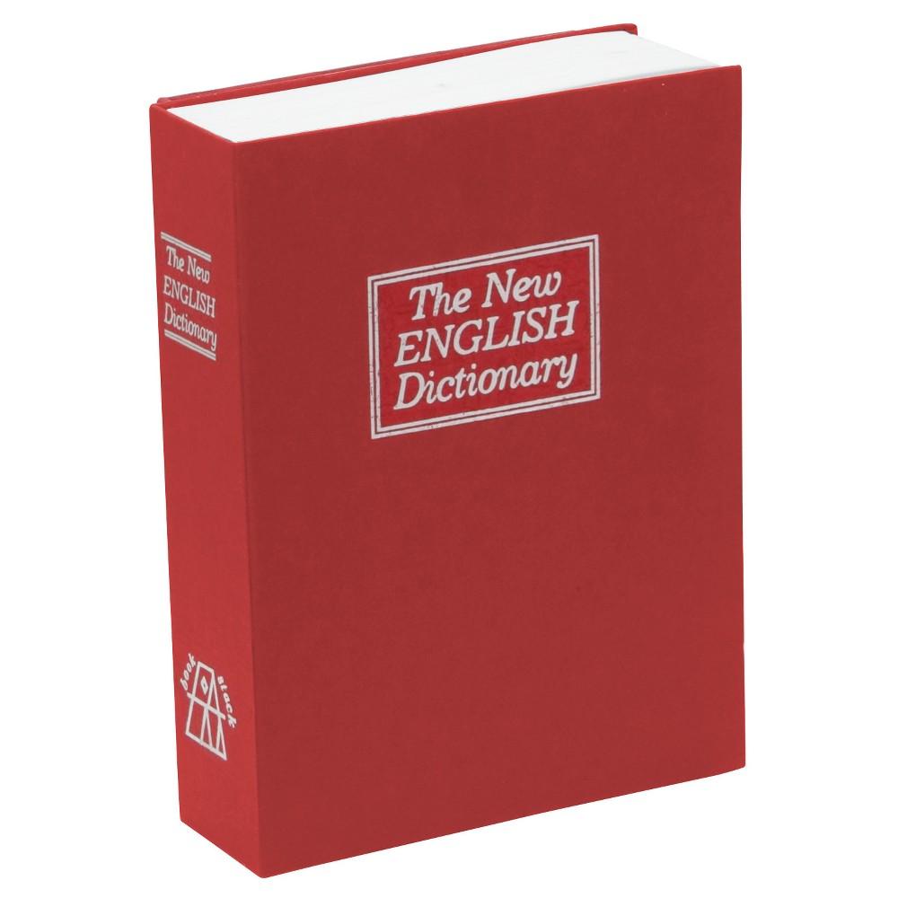 Image of Large Diversion Book Safe, Red