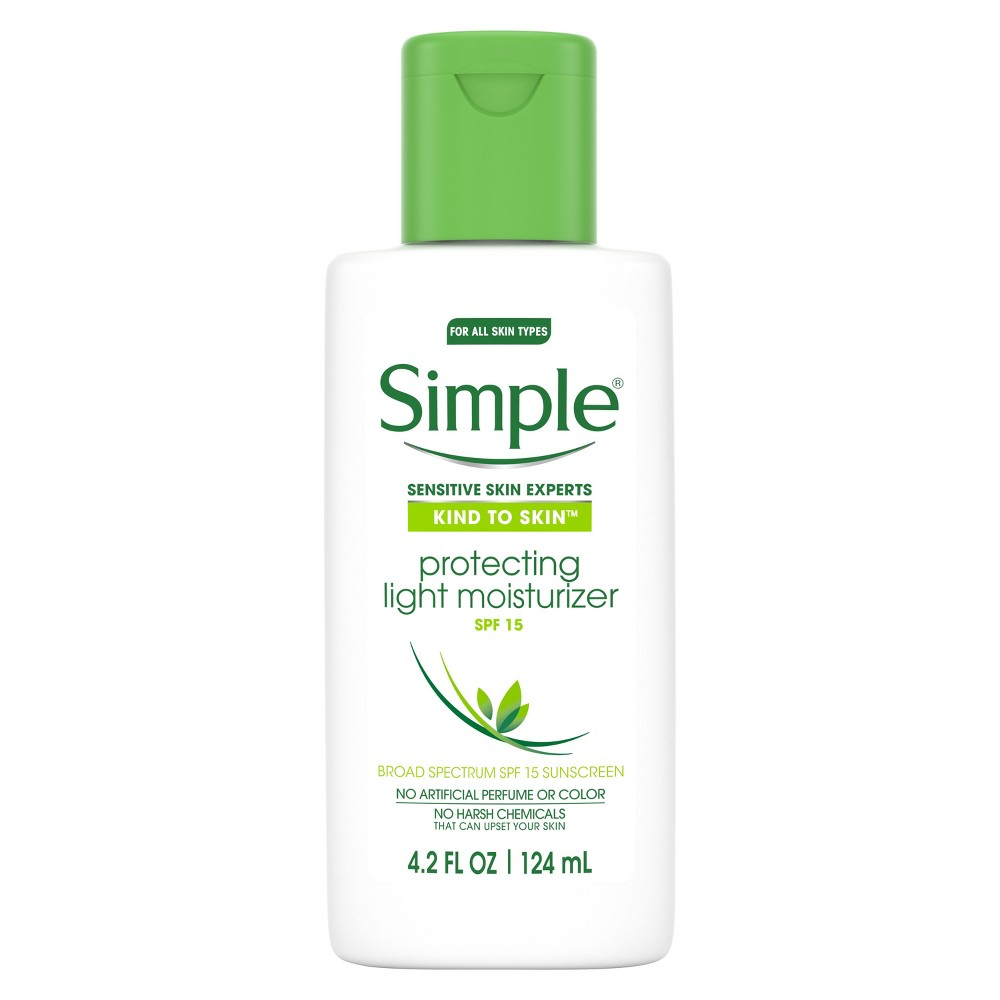 Unscented Simple Protecting Light Moisturizer Spf 15 - 4.2oz