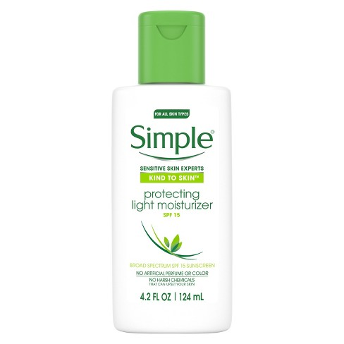 Unscented Simple Protecting Light Moisturizer SPF 15 - 4.2oz - image 1 of 5