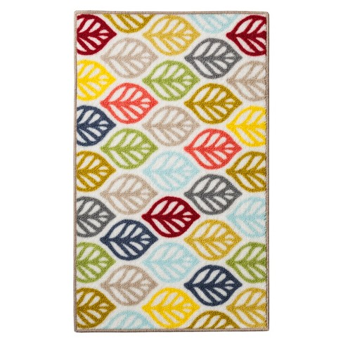 "Green Leaf Kitchen Rug Rugs (1'8""X2'10"") - Room Essentials™ - image 1 of 3"