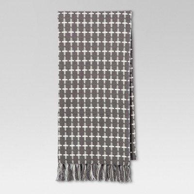 Homespun Woven Kitchen Towel - Gray - Threshold™