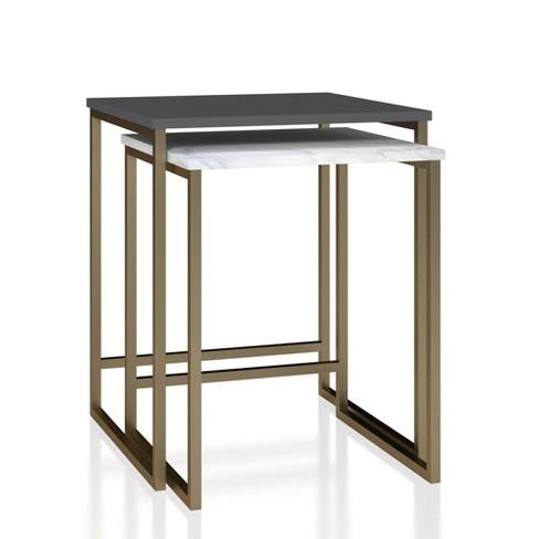 Scarlett Nesting Tables Cosmoliving By Cosmopolitan