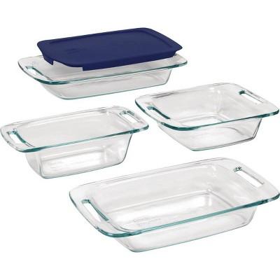 Pyrex Easy Grab 5pc Glass Bakeware Set