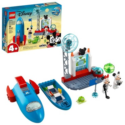 LEGO Disney Mickey and Friends Mickey Mouse & Minnie Mouse's Space Rocket Kit 10774