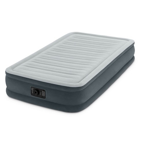 Intex PVC Dura-Beam Series Mid Rise Airbed with Built In Electric Pump, Twin - image 1 of 4