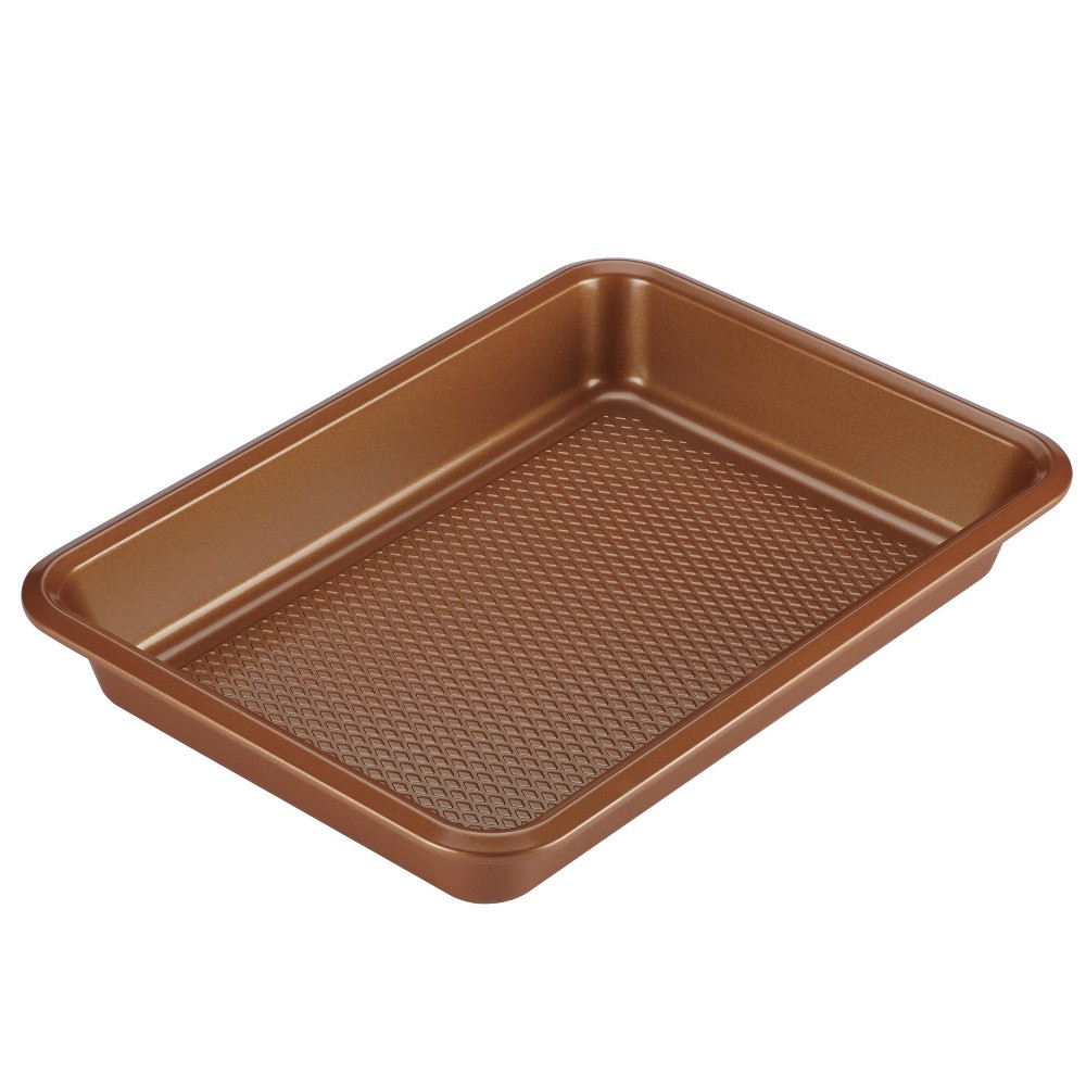 "Image of ""Ayesha Curry 9"""" x 13"""" Bakeware Cake Pan Copper (Brown)"""