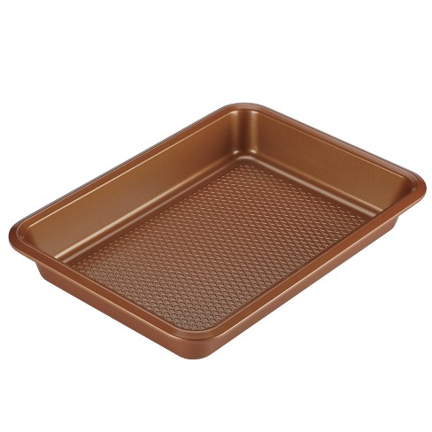 """Ayesha Curry 9"""" x 13"""" Bakeware Cake Pan Copper - image 1 of 4"""