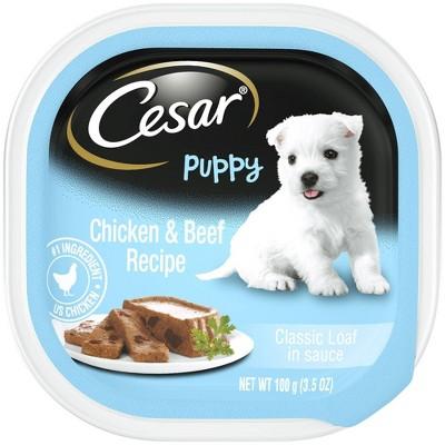 CESAR Canine Cuisine Classic Loaf in Sauce Wet Dog Food - 3.5oz