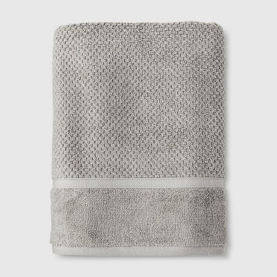 Performance Texture Bath Towel Gray - Threshold™