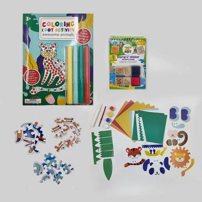 Kids' 4pk Animal Craft & Activity Bundle - Bullseye's Playground™