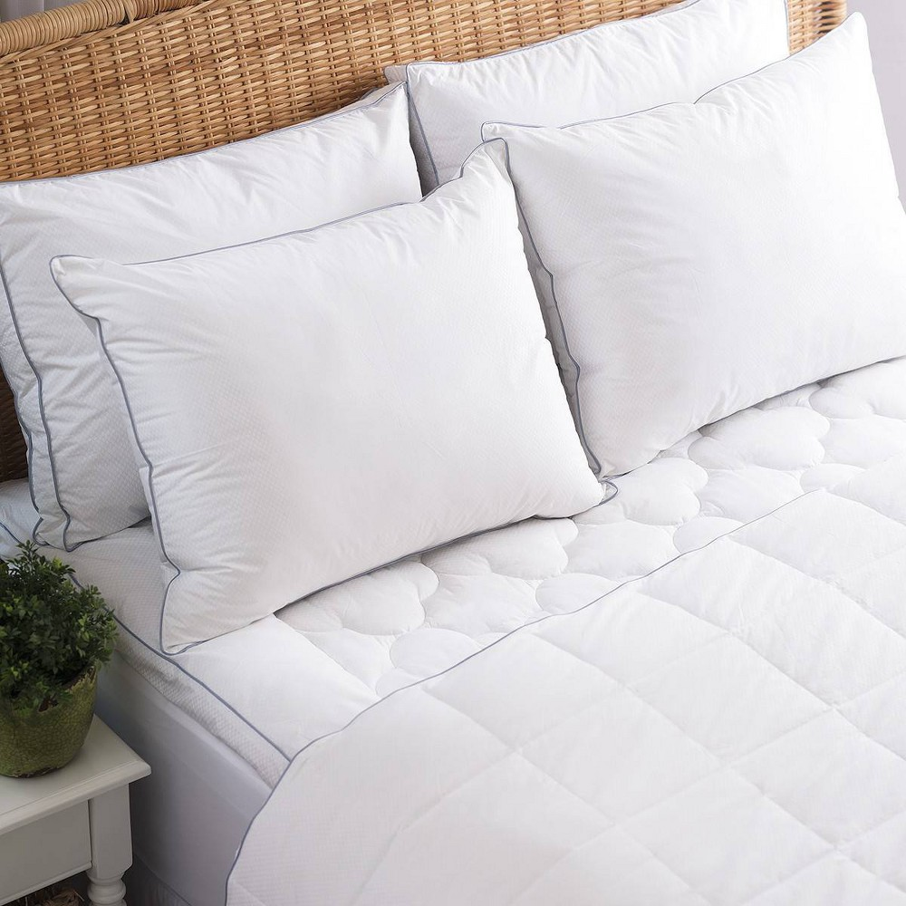 Image of Allied Home California King PerfectCool Thermoregulating Mattress Pad White