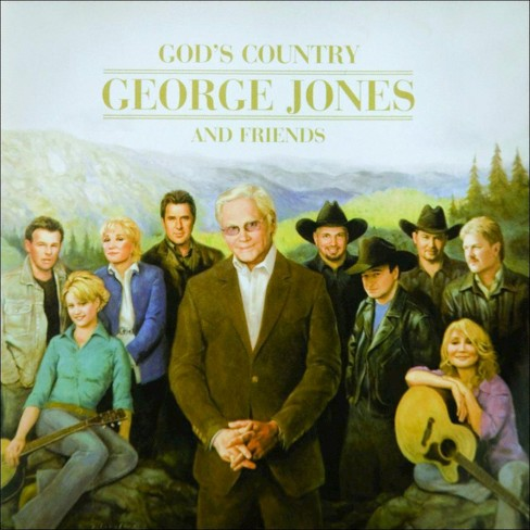 George jones - God's country (CD) - image 1 of 1