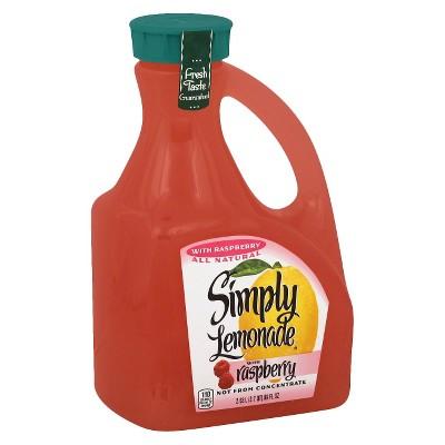 Simply Lemonade with Raspberry Juice - 89 fl oz