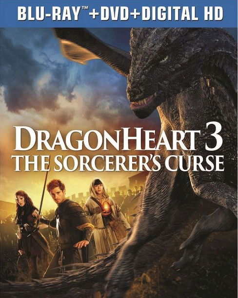 Dragonheart 3: The Sorcerer's Curse (Blu-ray) - image 1 of 1