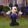 Gemmy Airblown Mickey in Vampire Costume Disney , 3.5 ft Tall, Multicolored - image 2 of 2