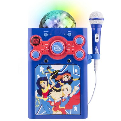DC SuperHero Girls Disco Karaoke System