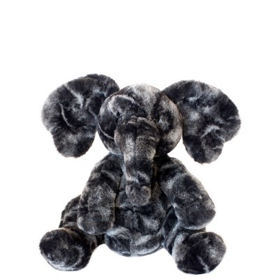 Manhattan Toy Luxe Liam Stuffed Animal Elephant Plush Baby Toy, 9""