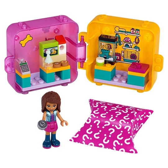 LEGO Friends Andrea's Play Cube 41405 Building Kit image number null