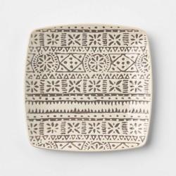 Stoneware Genesis Spoon Rest White/Gray - Threshold™