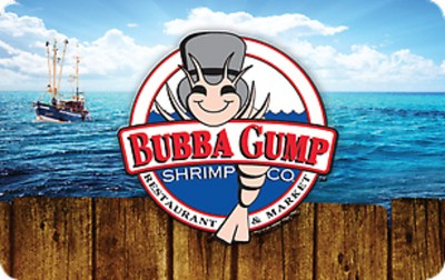 Bubba Gump Shrimp $25 (Email Delivery)