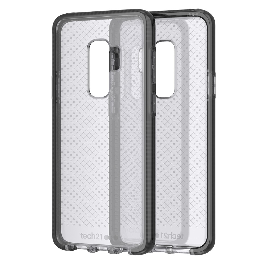 Tech21 Samsung Galaxy S9 Plus EvoCheck - Smokey Black, Gray