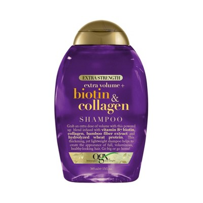 OGX Biotin & Collagen Extra Strength Shampoo - 13 fl oz