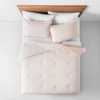 Full/Queen Lazarus Floral Comforter Set Blush - Opalhouse™