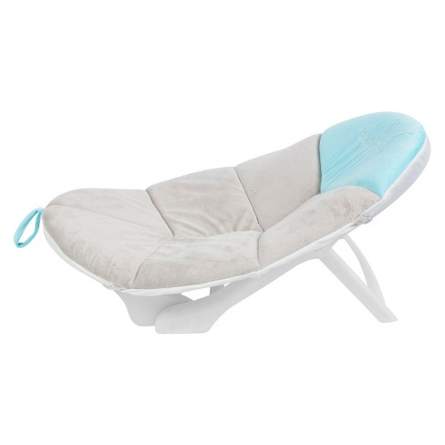 Baby Delight Cushy Nest Cloud Premium Infant Bather - Teal/Gray - image 1 of 4