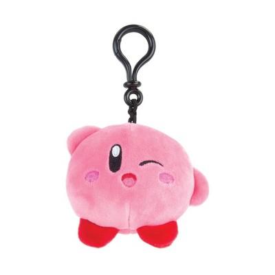 Club Mocchi Mocchi Nintendo Clip-On Plush - Wink Kirby