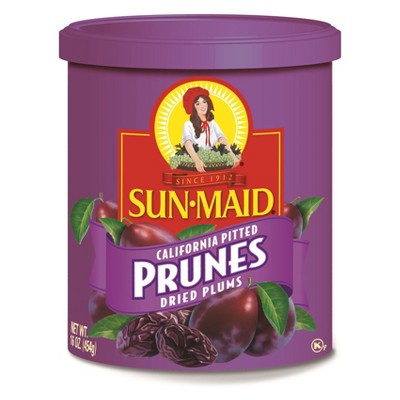 Dried Fruit & Raisins: Sun-Maid Pitted Prunes
