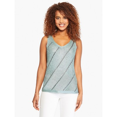 NIC+ZOE Women's Right Direction Sweater Tank Breeze