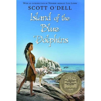 Island of the Blue Dolphins - by  Scott O'Dell (Hardcover)