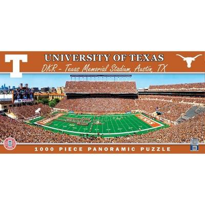 NCAA Texas Longhorns Stadium Pano Puzzle - 1000pc