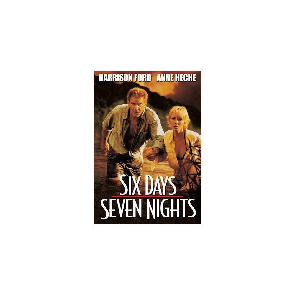 Six Days Seven Nights Dvd 1998