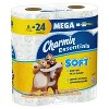 Charmin Essentials Soft Toilet Paper - 6 Mega Rolls - image 3 of 4