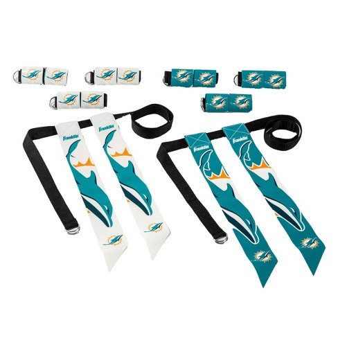 size 40 0971f 6df7a NFL Franklin Sports Miami Dolphins Youth Flag Football Set