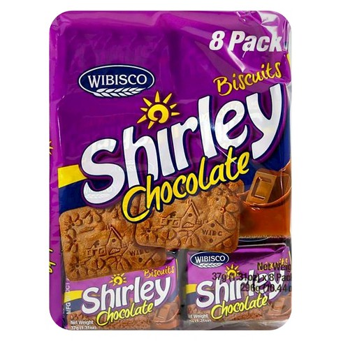 Wibisco Shirley Chocolate Biscuits 8 pack - image 1 of 1