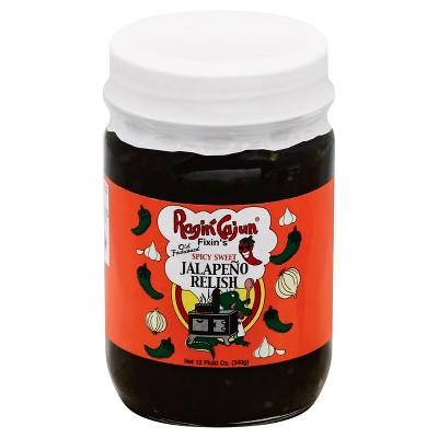 Ragin' Cajun Spicy Sweet Jalepeno Relish - 12oz