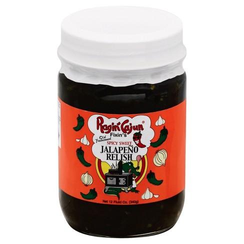 Ragin' Cajun Spicy Sweet Jalepeno Relish - 12oz - image 1 of 1