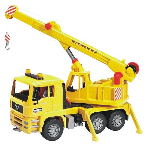 Bruder Toys MAN Crane Truck - image 1 of 2
