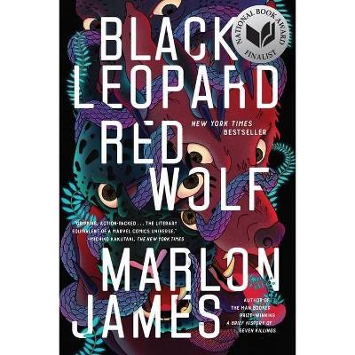 Black Leopard, Red Wolf - (Dark Star Trilogy) by  Marlon James (Paperback)