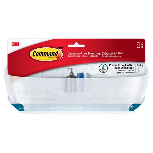 Command™ Shower Caddy with Water-Resistant Strips - image 1 of 3